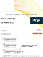 RAN2124 HSPA 128 Users Per Cell