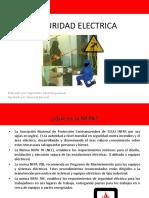 Seguridad Electrica - Nfpa 70e