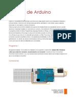 Módulo de Arduino