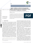 2014 Tungsten Carbides as Selective Deoxygenation Catalysts Experimental and Computational Studies of Converting C3 Oxygenates to Propene