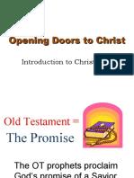 Opening Doors to Christ
