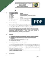 A. Silabo Politica Ambiental 2017