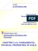 Chapter 3 (1) - Fundamental Physical Properties of Soils