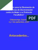 CEDAW y Protocolo Facultativo