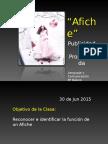 Afiche Publicidad y Propag 8º Basico