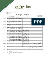 A Fugal Overture - Score