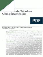 Aplicação de Técnicas Comportamentais (Cap 7 Terapia Cognitiva Da Depressão)