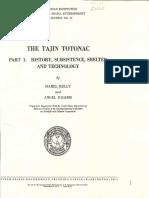The Tajin Totonac - Isabel Truesdell Kelly y Ángel Palerm (1952)
