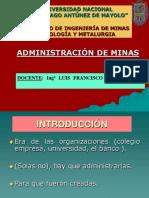 Clase 2 Administración de Minas