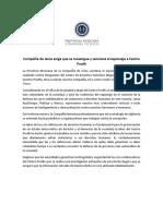 """""""Condenamos y exigimos se sancione espionaje a Centro Prodh"""""""