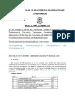 JNTUACEA Admissions Web 2017-18