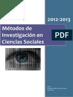 Apuntes Metodos de Investigacion en Cien