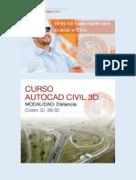 Brochure Autocad Civil 3d