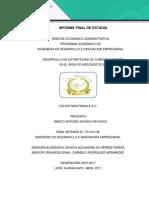 Desarrollo de negocios IFE