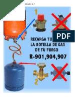 Recarga de Gas Licuado Glp