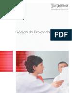Código de Proveedores Nestlé - 2009