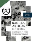 Catálogo Bonilla Artigas Editores 2017