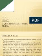 A Queueing Based Traffic Flow Model