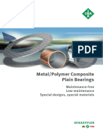 Fag Metalpolymer Composite Plain Bearings