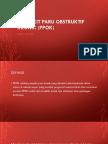 Penyakit Paru Obstruktif Kronik (Ppok)