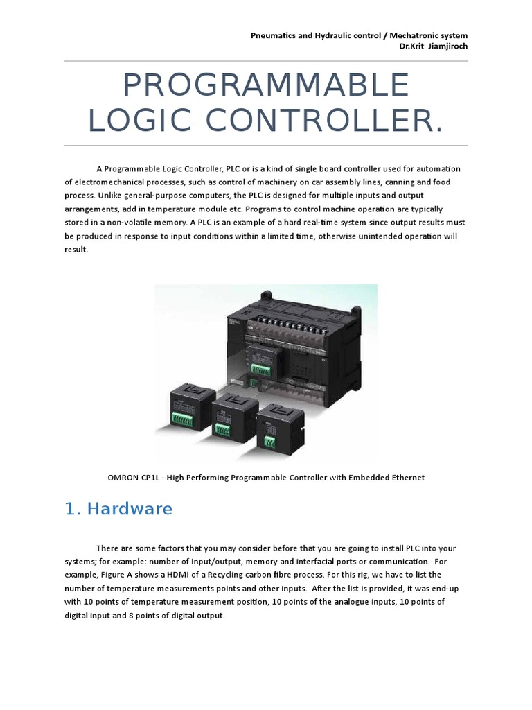 Programmable Logic Controller Ac Motor Control Circuits Plcdoc Online Shop Engineering