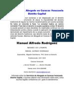 Servicios de Abogado en Caracas Venezuela Distrito Capital
