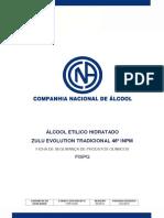 Álcool Etílico Hidratado Zulu Evolution Tradicional 46º INPM