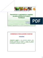 Aula 31.08.16 - Hormônios e Reguladores Vegetais Na PC