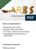 Carbohydrates Postlab2 1