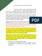 La Profesión Del Psicólogo en México en El Periodo de 1950 (1)