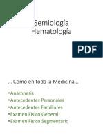 10.-Semiologia Hematologia