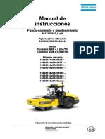 Operación y Mantenimiento - Rodillo Dynapac CA2500