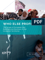 Who Else Profits - Multinational Business in Occupied Territories Worldwide