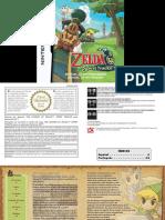 Manual NintendoDS TheLegendOfZeldaSpiritTracks ES