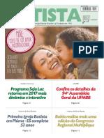 O Jornal Batista Nº 20 - 14.05.2017