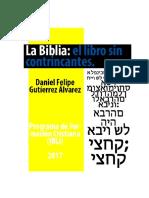 La Biblia, El Libro Sin Contrincantes