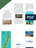 Triptico Cuba