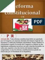 Reforma Constitucional II