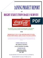 Project Report on Coco Cola