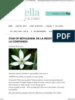 Star of Bethlehem_ de La Resistencia a La Confianza - Terapias Florales