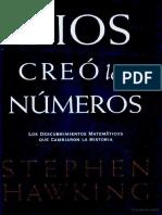 Stephen Hawking Dios creo los Numeros.pdf