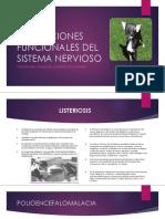 Alteraciones Funcionales Del Sistema Nervioso