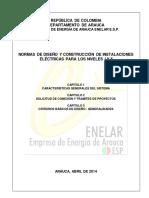 NORMAS DE DISEÑO Y CONSTRUCCIÓN DE INSTALACIONES ELÈCTRICAS PARA LOS NIVELES I Y II CAP. 123.pdf