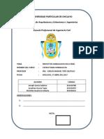 Informe de Proyectos Hidraulicos en El Peru