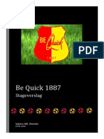 stageverslag be quick 1887