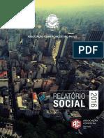 Relatório Social 2016