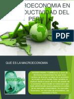 La Macroeconomia en La Productividad Del Peru