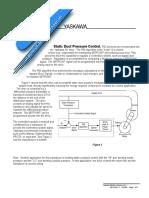 Static Pressure Duct Control