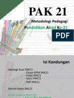 metodologi PAK21