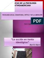 Clase Nº 13 Psicologia Social Latinoamericana